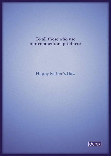 Durex Fête des pères